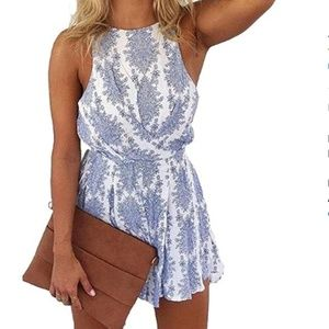 NWOT Sleeveless Romper